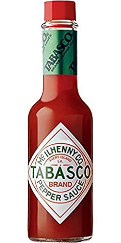 American délicieux Rouge Poivre Sauce, 60ml?Tabasco (lot de 2)