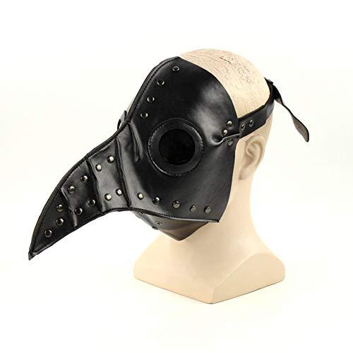 Pest Doktor Maske Halloween Prop Kleidung Steampunk Gothic -