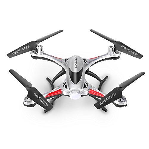 Drone, quadricottero con giroscopio a 6 assi per stabilità ed alzata in volo automatica
