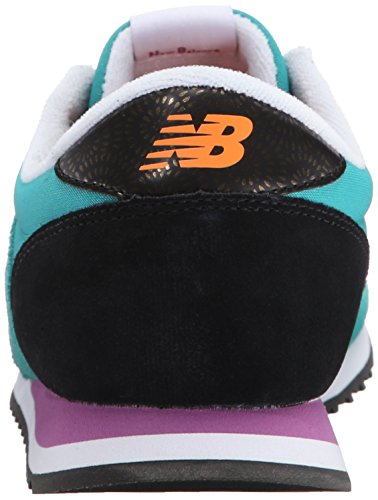 New Balance Women's WL420 Bold Brights Running Shoe Galapagos Black/Gold