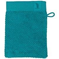 möve New Essential Waschhandschuh 15 x 20 cm aus 100% Baumwolle, emerald