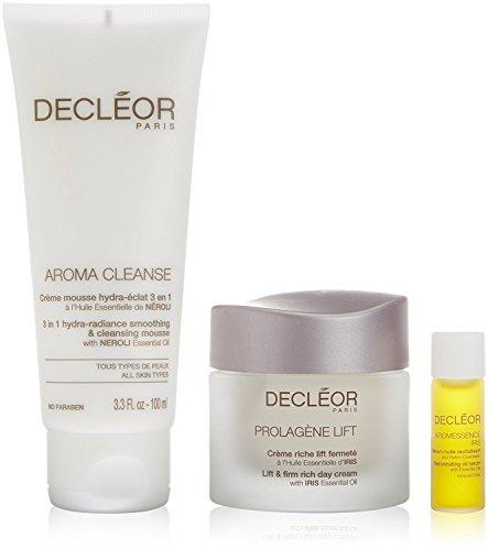Decleor Set de Mousse Nettoyant/Crème de Jour/Huile de Sérum 100 ml