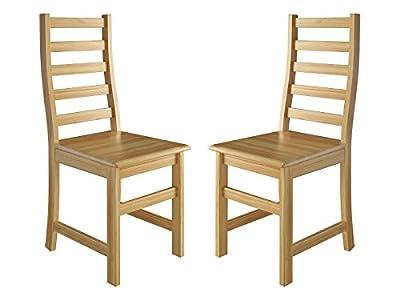 Erst-Holz® Küchenstuhl Massivholzstuhl Esszimmerstuhl Kiefer Stühle 90.71-21-D von Erst-Holz® - Gartenmöbel von Du und Dein Garten