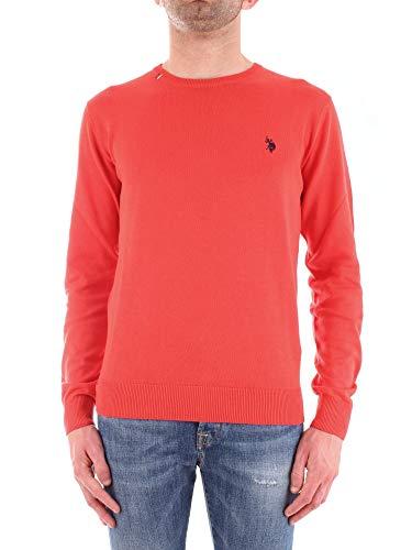 U.S. Polo Assn. Maglione Uomo 5143151727Rosso Cotone Rosso