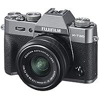 """Fujifilm X-T30 Kit e Obiettivo XC15-45 mm F3.5-5.6 OIS PZ, Fotocamera Digitale da 26 MP, Sensore CMOS X-Trans 4 APS-C, Mirino EVF, Filmati 4K 30p, Schermo LCD Touch 3"""" Orientabile, Antracite"""