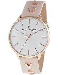 8e2bfb4cc805 Thom Olson CBTO012 Reloj de Pulsera para Mujer