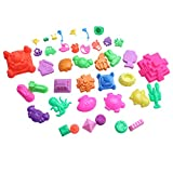 Selify 39PCS Sand scultura stampo set Space Toy Sand Mars Moon sabbia Power Sand Mould Beach Toy giocattolo educativo