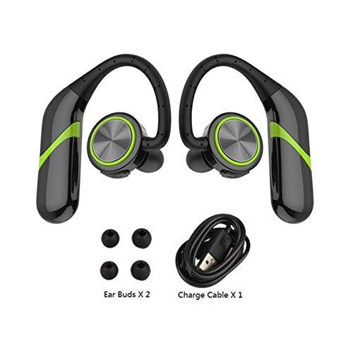 Jasnyfall S800 Stereo Bequeme RUNNING WEAR drahtlose Bluetooth-Kopfhörer HIFI Earhook Grün