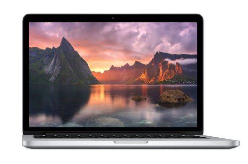 Apple MacBook Pro 33,02 cm (13 Zoll) Notebook (Intel-Core i5 4258U, 2,4GHz, 8GB RAM, 256 GB SSD, Intel Iris Graphics 5100,  Mac OS) silber