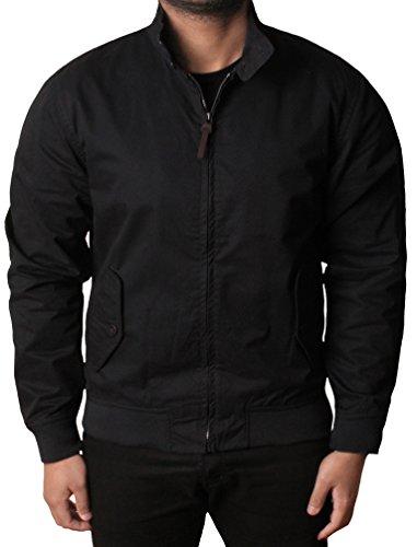 d625a777a79 Mens DANNY Classic Wear Jacket Harrington MA1 Summer Lightweight Coat  Military