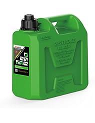 Seaflo 1,3kg 2,6gallon 10litros de plástico verde apagado automático de combustible latas dos tiempos motor de gasolina aceite
