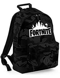 Fortnite School Backpack, Mochila para Estudiantes College Bookbag Mochila de Viaje Daypack Mochila