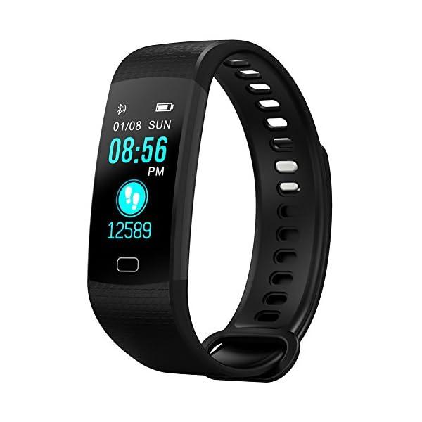 Pulsera Actividad Reloj Inteligente Fitness Tracker Multifuncional Cuenta Pasos CaloríAs, Smartwatch Fitness Tracker Para Hombre Y Mujer 2