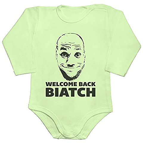 Welcome back James 2016 Finals Artwork Parody Baby Romper Long Sleeve Bodysuit Small