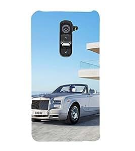 Fantastic Car Design 3D Hard Polycarbonate Designer Back Case Cover for LG G2 :: LG G2 D800 D980