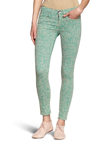 Pepe Jeans - Pantaloni Pixie, Donna, verde (Grün (Spearmint)), 40/42 IT (27W/28L)