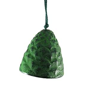 Green Pine Cone Wind Bell
