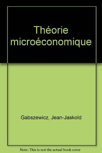 Théorie microéconomique
