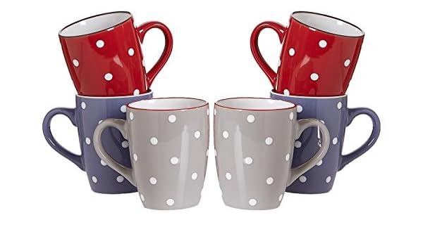 Coloris Assortis 35 x 16 x 25 cm Ritzenhoff /& Breker 741995 Vaisselle C/éramique
