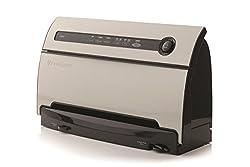 Foodsaver FSFSSL3840-050 Automatischer Vakuumierer | Vakuumiergerät | Folienschweißgerät | Behälter- und Marinatormodus | Integrierte Rollenaufbewahrung | hält Lebensmittel länger frisch