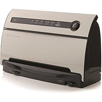 FoodSaver v3840 Appareil à emballage sous vide automatique 160 W Noir, Acier Inoxydable