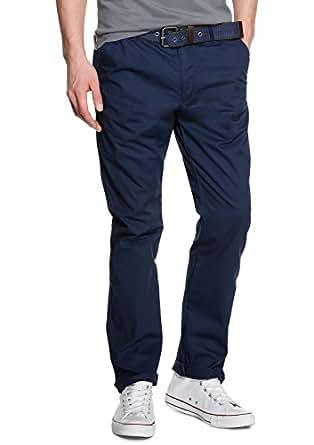 s.Oliver Herren Straight Leg Hose 13.403.73.1335, Gr. 54 (Herstellergröße: 36/34), Blau (midnight)