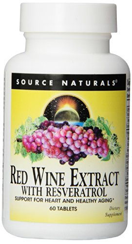 Rotwein Extract mit Resveratrol, 60 Tabletten -
