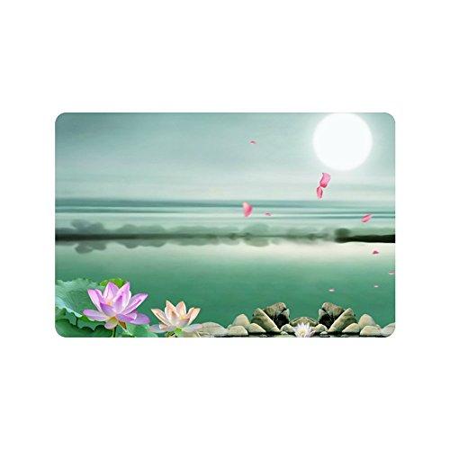 nuohaoshangmao Doormat Landscape Painting Rug Indoor/Outdoor/Front Door/Bathroom Mats Floor Mat 12.5 x 18 Inch