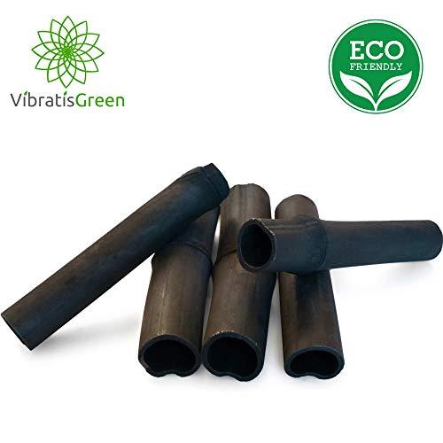 Vibratis Binchotan 5x | Aktivkohle Wasserfilter aus Bambus zur Reinigung von Wasser in Karaffe -