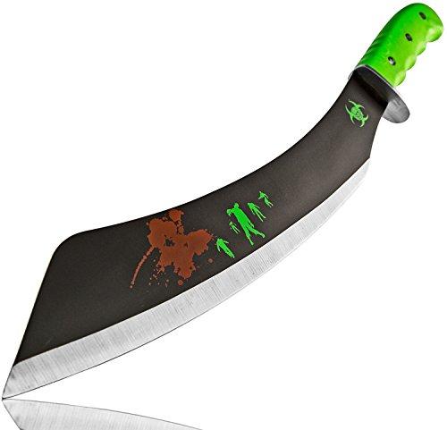 Nerd Clear Machete Stahl 50cm Busch-Messer Survival-Messer Überlebens-Messer Jagd-Messer Gürtel-Messer Beil Messer