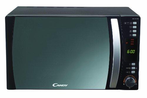 Candy CMC 30D CVB Mikrowelle / 900 Watt / Grill 1100 Watt / 30 Liter / verspiegelte Front / Heißluft / schwarz