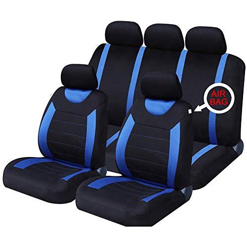 Classic Car Sitzbezüge Set Universal Carseat Protektoren Airbag Kompatibel Kfz-Zubehör Innenraum für die meisten Auto, SUV, Van (Kfz-zubehör Seat Cover-sets)