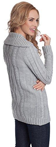 Merry Style Donna Pullover Greta Grigio