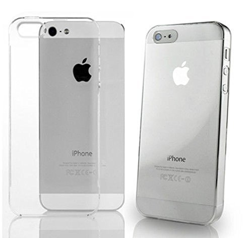 Apple iPhone 5 / 5S Silicone Gel Shell Case Transparent