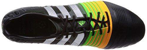 adidas  NITROCHARGE 1.0 FG, Chaussures de foot pour homme core black-silver metallic-solar gold CNoir/Silvmt/Sogold