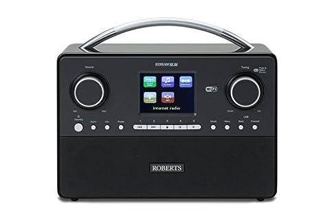 Roberts Stream93i Système stéréo internet avec hauts-parleurs 3 directions DAB/DAB+/FM/
