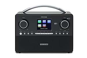 Roberts Radio Stream93i DAB/DAB+/FM RDS and WiFi Internet Radio with Three Way Speaker System
