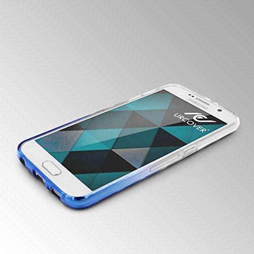 URCOVER Coque Back-case Housse Glittery Diamant pour Apple iPhone 7 Plus | Étui avec Strass Scintillantes et Pailletté en Silicone TPU Souple in Transparente Bleu