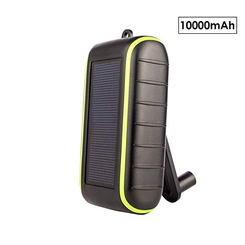 Solar Ladegerät Power Bank tragbares Solar Handy Ladegerät Solar Panel externer Akku Ladegerät USB im Freien tragbares Solarladegerät