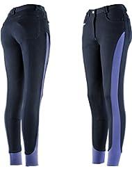 EQUI-THÈME Culotte Equitation Pantalon Femme Insert