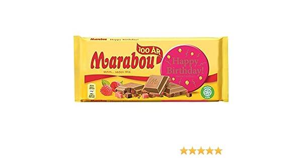 marabou happy birthday