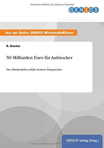 50 Milliarden Euro f??r Aufstocker by R. Reuter (2015-07-15)