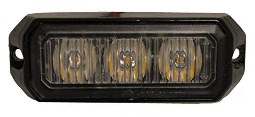 Maypole Mp4110 LED strobe lampe Ambre, 3 x 3 W, 12/24 V