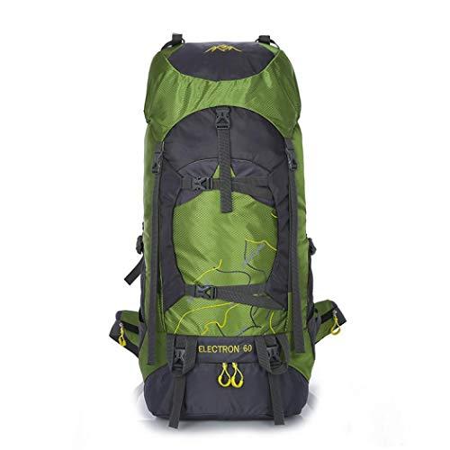 Atmungsaktiver Rucksack Daypack Klettern Rucksack Wanderrucksack Assault Pack Bergsteigen Klettern Rucksack Leichter Rucksack Einheitsgröße grün