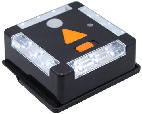 Preisvergleich Produktbild Tri-Lynx 00027B 12-LED-Leuchte mit Bewegungsmelder und Dämmerungssensor,  Schwarz
