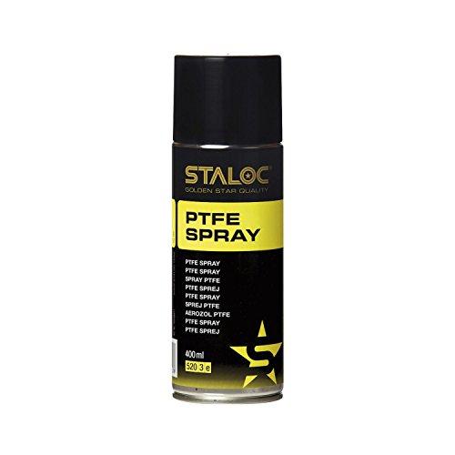 STALOC PTFE Spray | öl- und fettfreies Trocken-Schmiermittel | Gleitmittel | 100% PTFE | 400 ml - Trocken-schmiermittel
