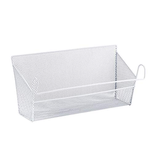 Bulary Bed Shelf Storage Baskets Iron Storage Bins for sale  Delivered anywhere in UK