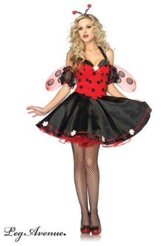 Daisy Kostüm Bug - Leg Avenue Daisy Lady Bug Kostüm XL, 1 Stück