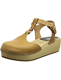 Swedish Hasbeens Ring Sandal, Zuecos para Mujer