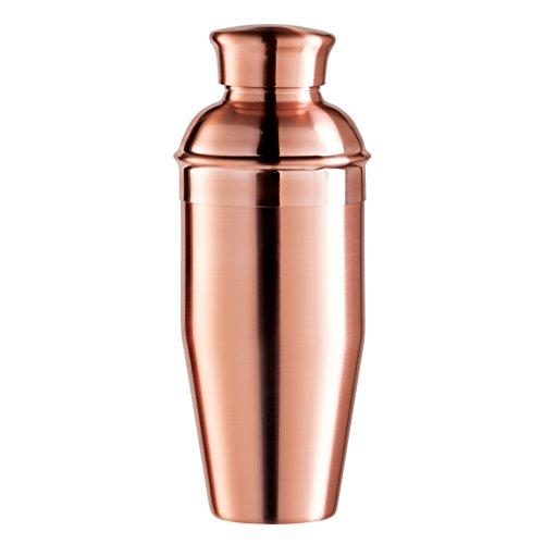 Oggi vergoldet Spiegel Finish Cocktail-Shaker aus Edelstahl, 0,75l/26oz, Kupfer Oggi Shaker